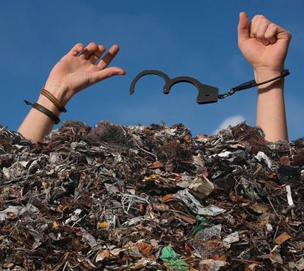 Un brin d'R pour R-adiquer l'R des déchets